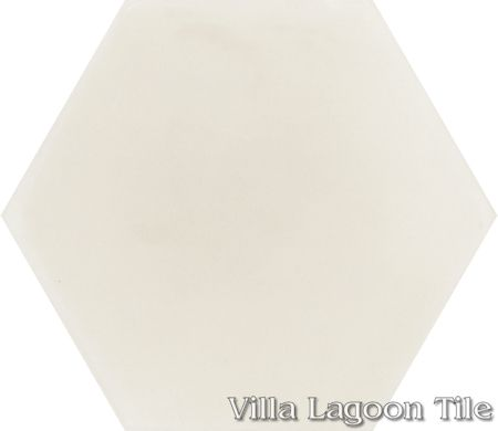 Mixed Calico Hex Cement Tile, from Villa Lagoon Tile.