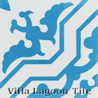 """Talia Azure"" Cement Tile from Villa Lagoon Tile"