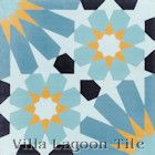 """Tangier Primero"" Cement Tile from Villa Lagoon Tile"