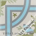 """Trapani Grove"" Cement Tile from Villa Lagoon Tile"