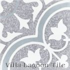"""Tulips B Holland Terrazzo"" Cement Tile from Villa Lagoon Tile"
