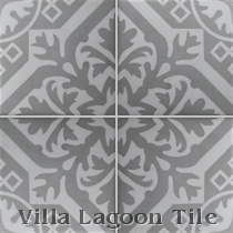 Reproduction Encaustic Cement Tile