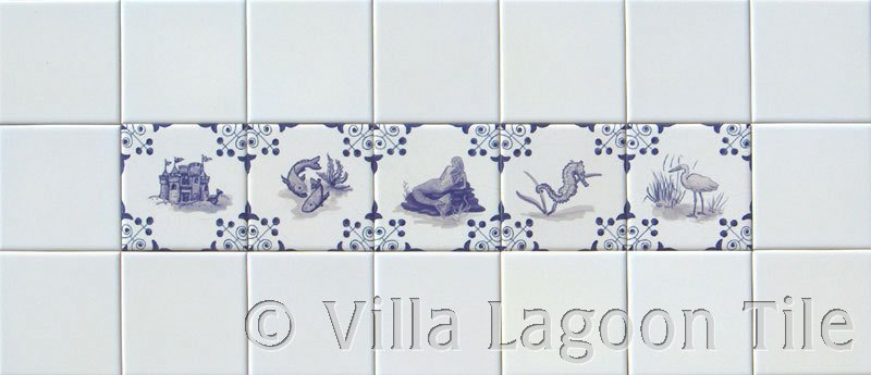 Delft tile decor photo