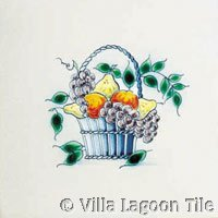 Delft Fruit Tile