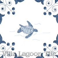 tile with Sea%20Turtle on it