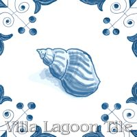 tile with Whelk on it