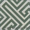 Fretwork Pattern Encaustic Tile