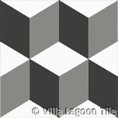 Geo 2 Geometric floor tile