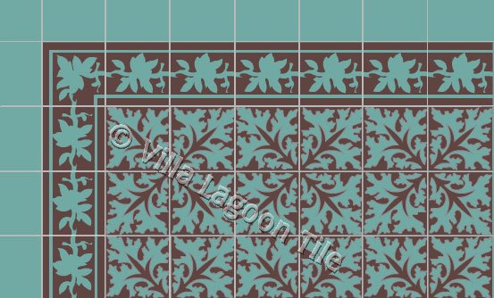 Cuban heritage tile design