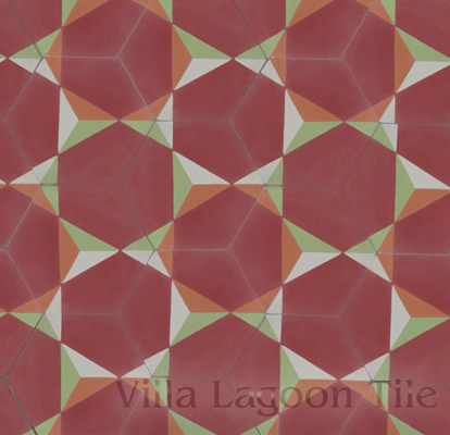 rosen hex cement tile pattern