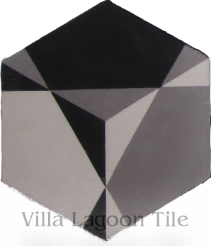 hex shaped cement tile