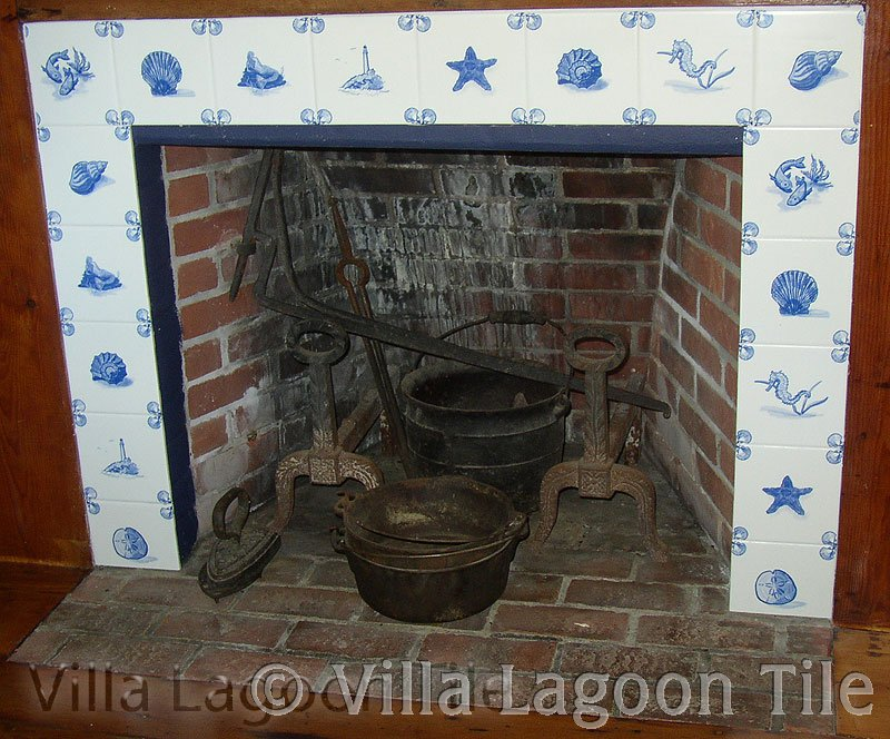Reproduction Delft Tiles Encaustic Cement Tiles