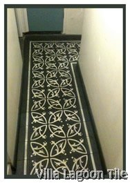 Cement tile installation in london england