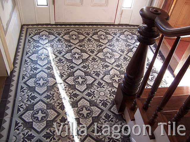 Custom cement tile