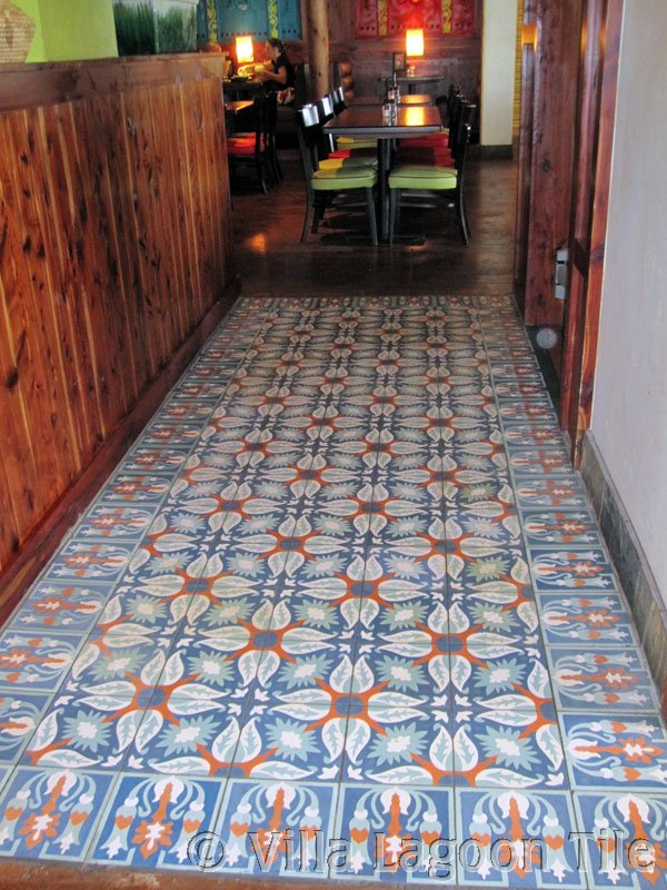 Cuban Tile Kitchen Floor