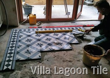 Installing cement tile in the UK