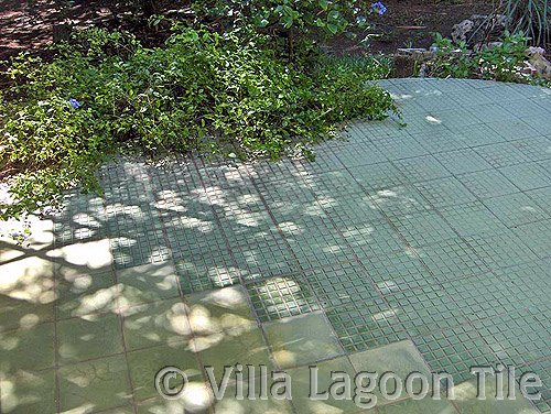 Outdoor paving cement tiles