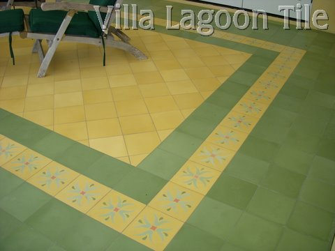 Solid Color Cement Tile Floors Villa Lagoon Tile