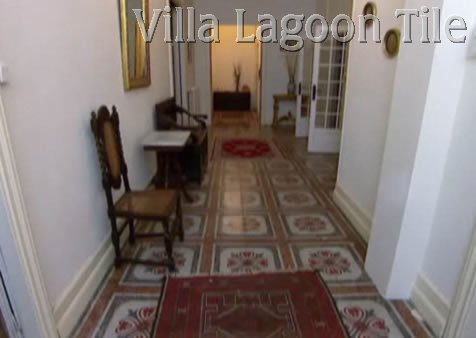 French tile floors with patterns