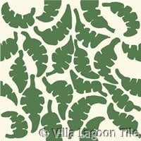 "Jeff Shelton's ""Leaf"" Cement Tile"