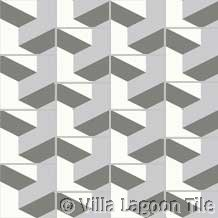 Escher tyle floor tile