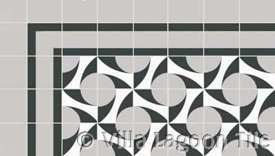 midcentry modern tile design