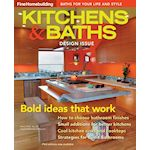 The cover of Fine HomeBuilding, Kitchen & Baths, Winter 2013.