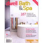 The cover of Dwell, Bath and Spa, 2012.