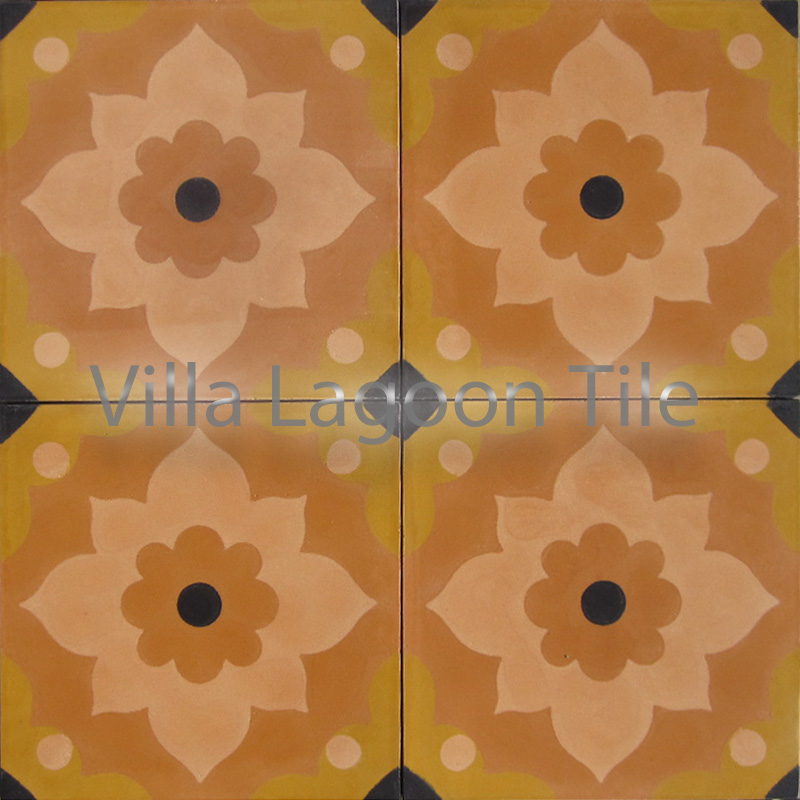 Omar Sherif cement tile from Morocco