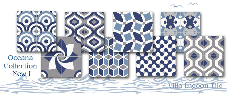 Oceana tile patterns