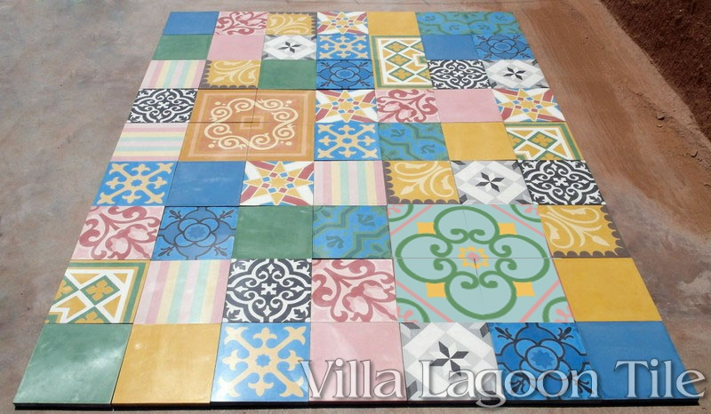 Patchwork tile for UK England, Wales, Ireland, Britain