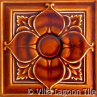 Carved tile for historic homes
