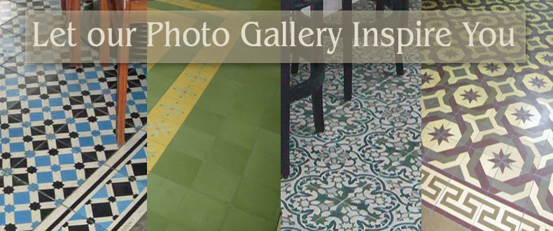 cement tile installations