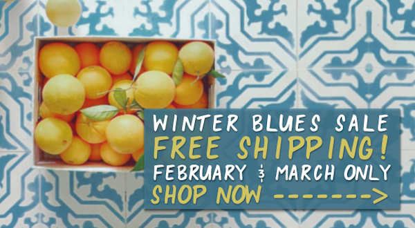 Free Shipping Cement Tile Sale!