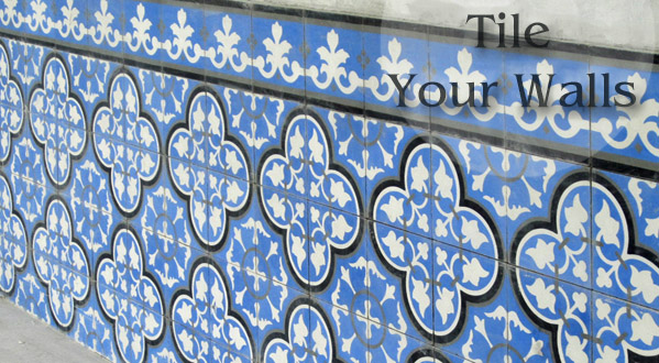 Cement Tile on Walls