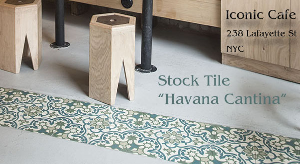 In-stock Havana Cantina Cement Tile.