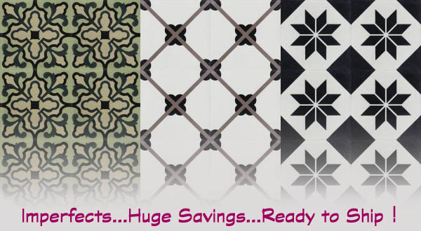 Discounted Cement Tile