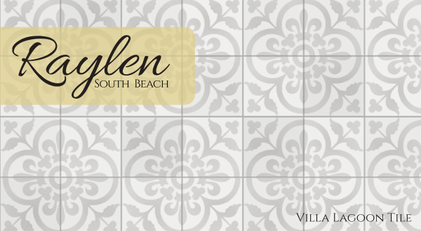 """Raylen A"" Cement Tile, from Villa Lagoon Tile"