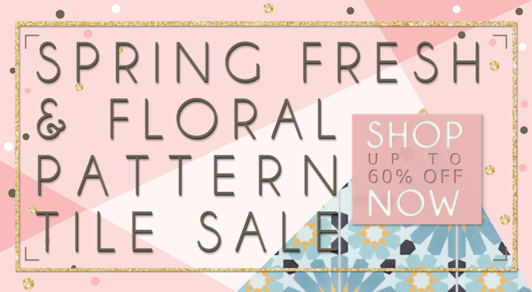 Spring Cement Tile Sale!