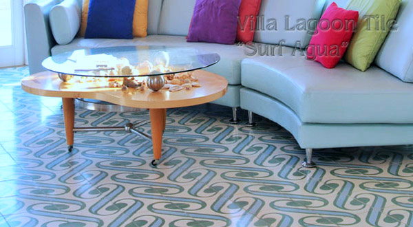 Cement Tile Living Room