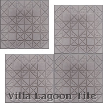 Hopscotch Relief Cement Tile, from Villa Lagoon Tile