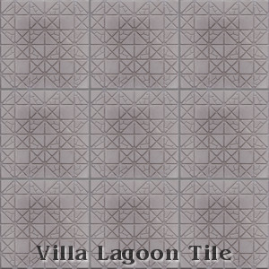"""Hopscotch"" Relief Cement Tile, from Villa Lagoon Tile."