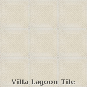 """Mosaic Cross"" Relief Cement Tile, from Villa Lagoon Tile."