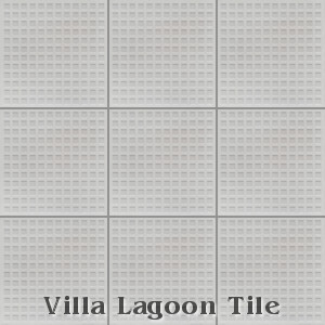 """Waffle"" Relief Cement Tile, from Villa Lagoon Tile."