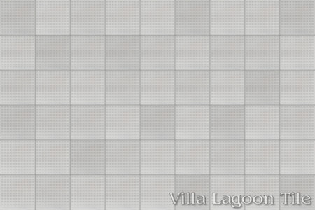 Waffle Relief, from Villa Lagoon Tile