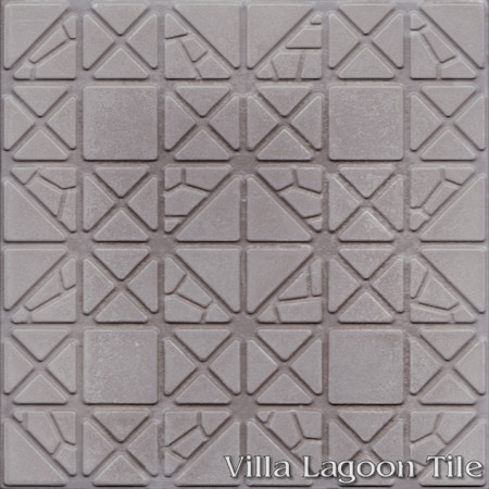 Hopscotch Relief, from Villa Lagoon Tile
