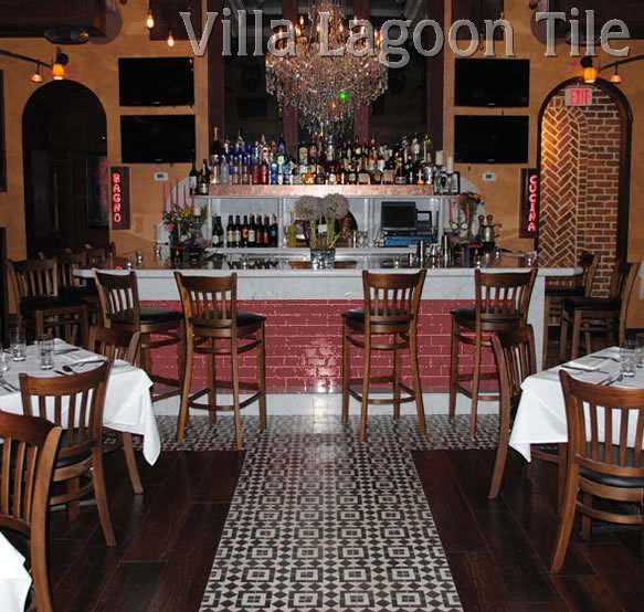 Serata Restaurant New York Tile Floor