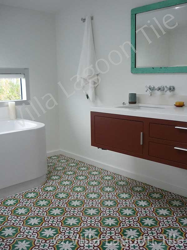 Sofia Bocassion tile installation of bathroom in Vancouver