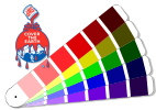 Sherwin Williams color chart for Caribbean Collection