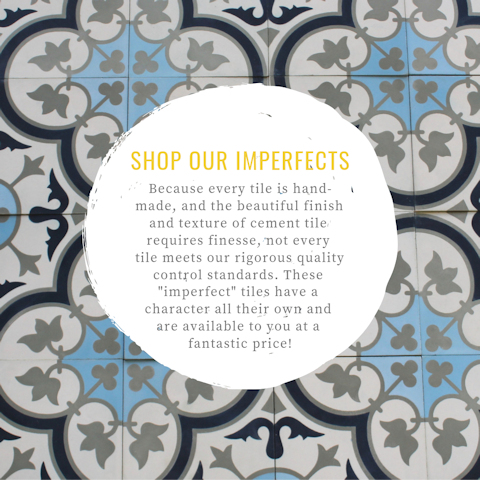 Imperfect Cement Tile Specials!